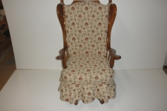 upholstered swivel rocker after